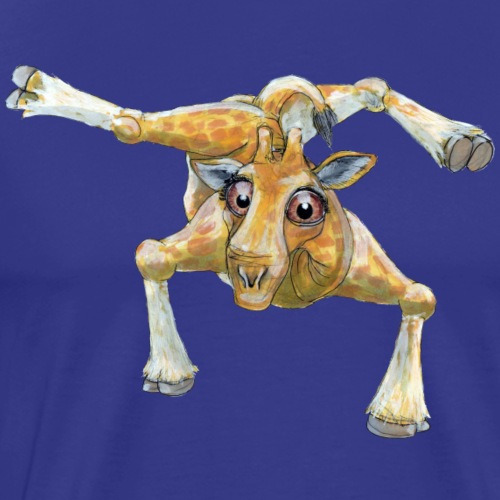 Breaker Giraf - Herre premium T-shirt