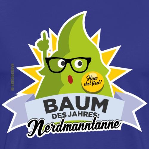 lustiges T Shirt Nerdmanntanne - Männer Premium T-Shirt