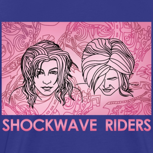 Shockwave Riders Faces pink
