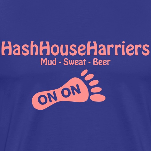 Hash House Harriers - Men's Premium T-Shirt