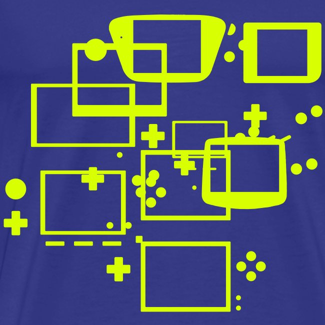 Video Game Handheld s Collage