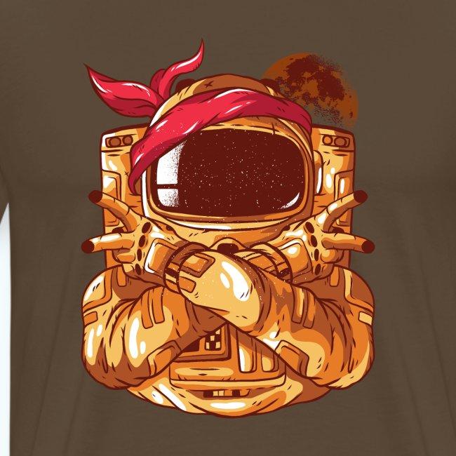 Rebel astronaut