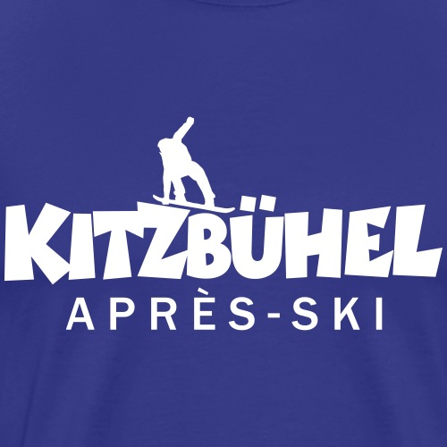 Kitzbühel Après-Ski Snowboard - Männer Premium T-Shirt