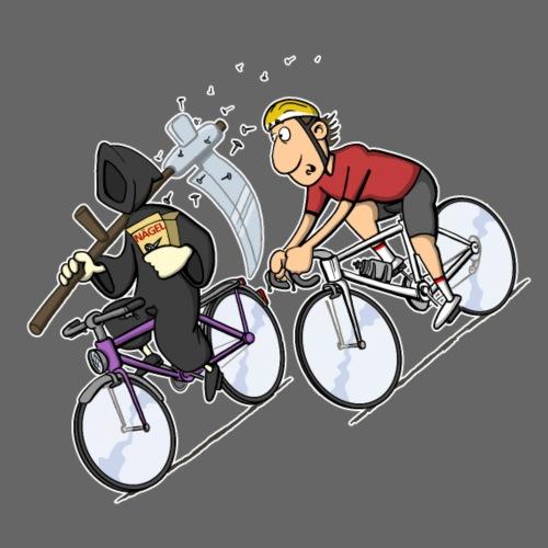 tod fahrrad shirt - Männer Premium T-Shirt