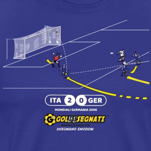 ITA GER 2-0 2006 - Maglietta Premium da uomo