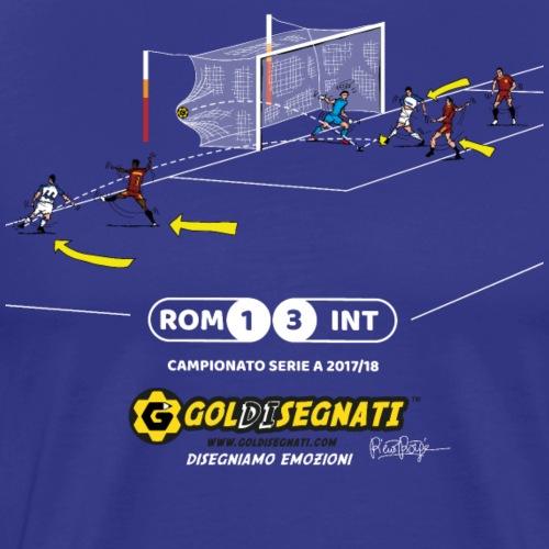 ROM-INT 1-3 2017 - Maglietta Premium da uomo