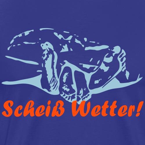 Scheiss Wetter - Männer Premium T-Shirt