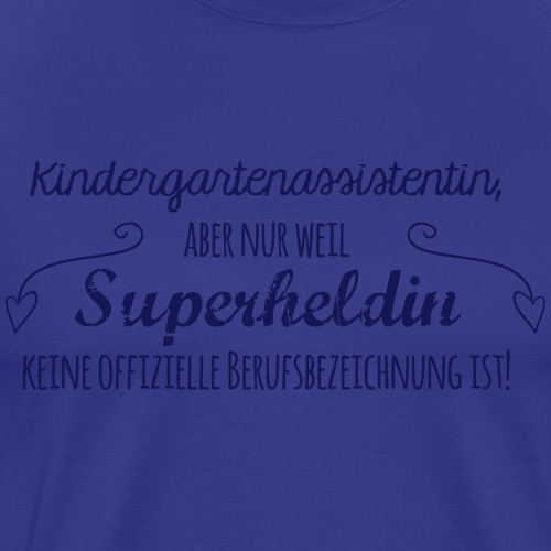 Kaffeetasse: Kindergartenassistentin - Männer Premium T-Shirt