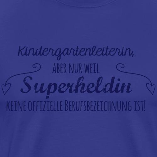 Kaffeetasse: Kindergartenleiterin - Männer Premium T-Shirt