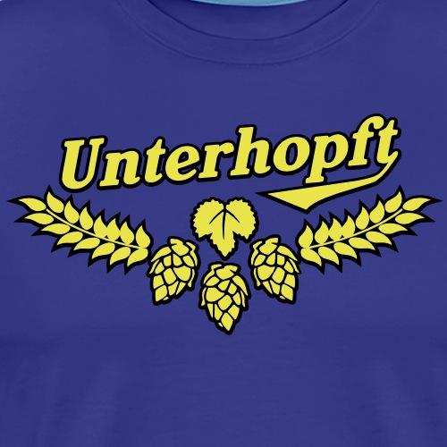 Unterhopft, Outline - Männer Premium T-Shirt