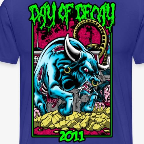 Day of Decay 2011 - Herre premium T-shirt