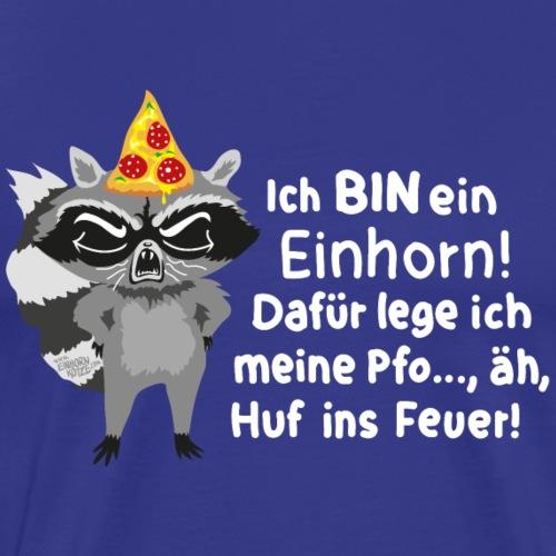 waschbareinhornspr - Männer Premium T-Shirt