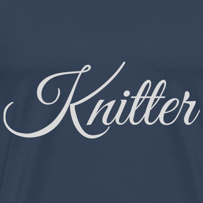 Knitter, light gray