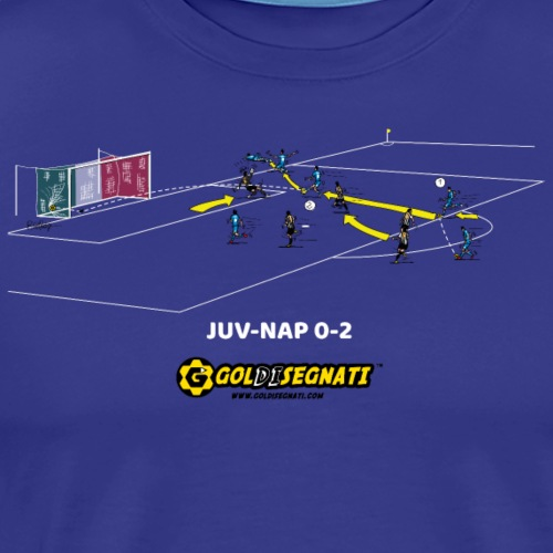 NAP-JUV 0-2 | 2012 - Maglietta Premium da uomo