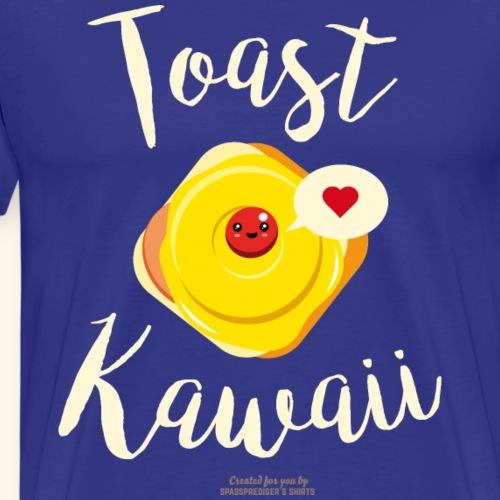 Toast Kawaii Geek Design - Männer Premium T-Shirt