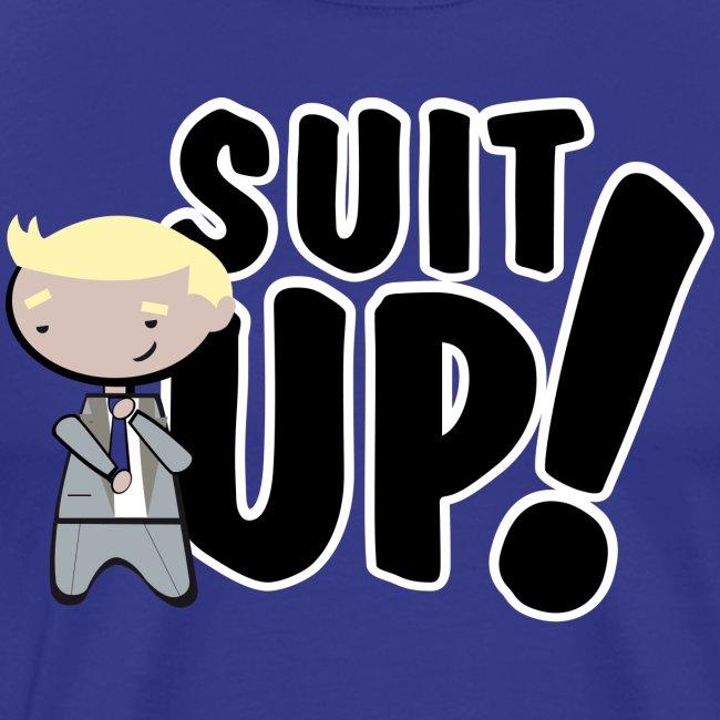 barney stinson suit up