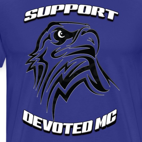 SUPPORT DEVOTEDMC E - Premium T-skjorte for menn