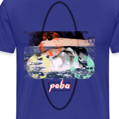 Toki Poba.inc - Maglietta Premium da uomo