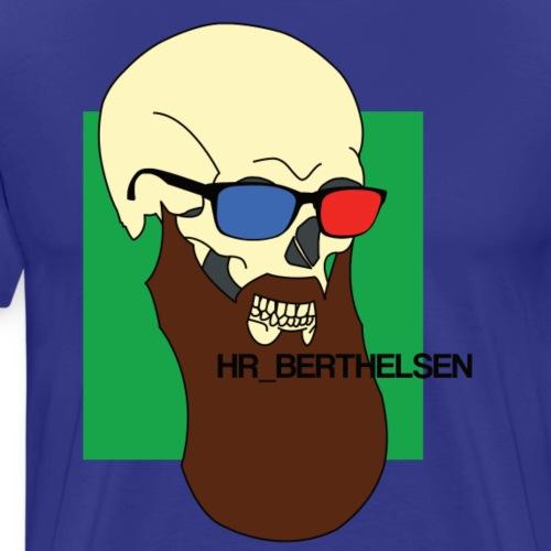 Hr_Berthelsens kranie - Herre premium T-shirt