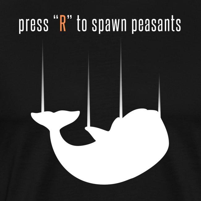 spawn peasants