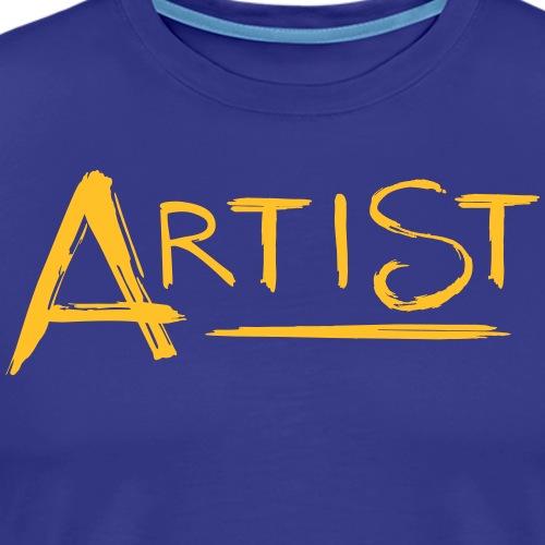 Artist - Schriftzug - Männer Premium T-Shirt
