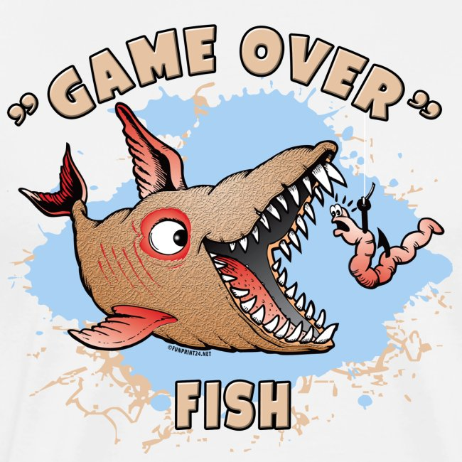 GAME OVER FISH - Cool Textiles, Gifts, Products