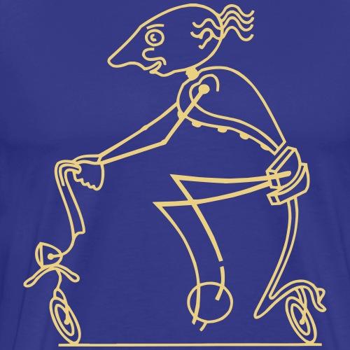 vélo - T-shirt Premium Homme