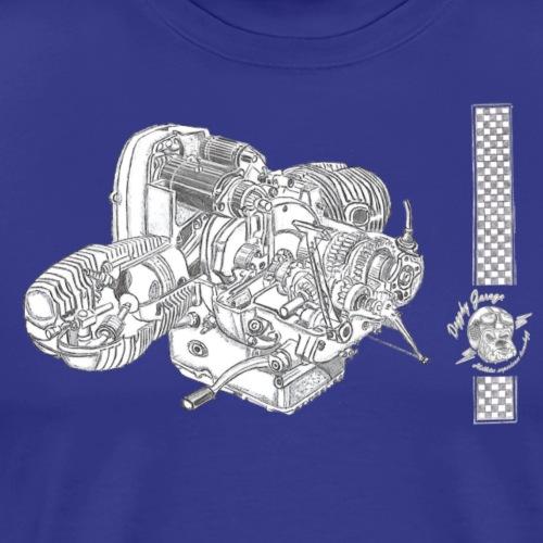 R 2 valvole - Maglietta Premium da uomo