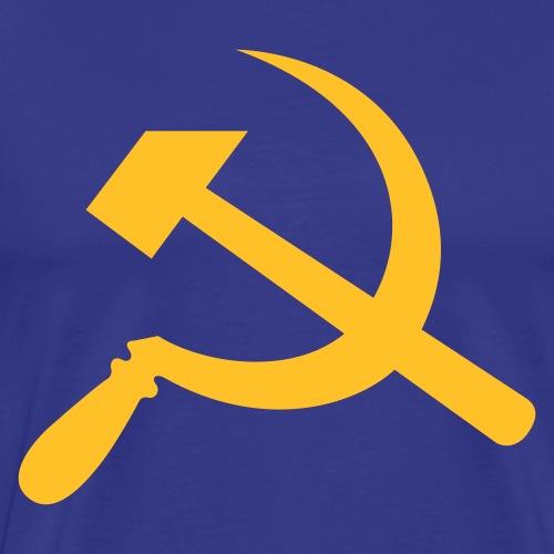Hammer und Sichel - Männer Premium T-Shirt