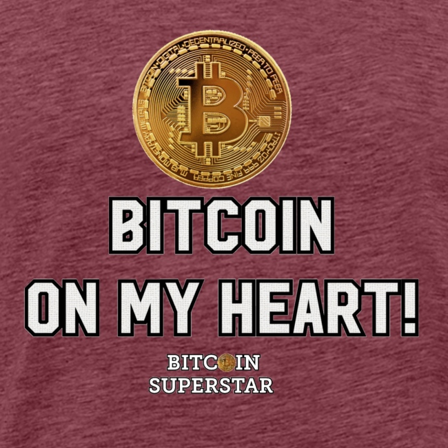 Bitcoin on my heart!