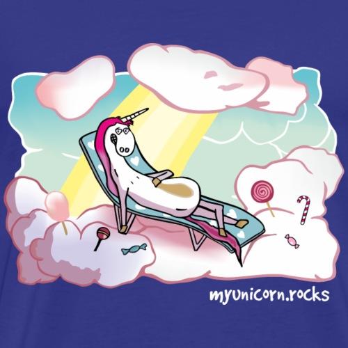 Unicorn Heaven - myunicorn.rocks - Men's Premium T-Shirt