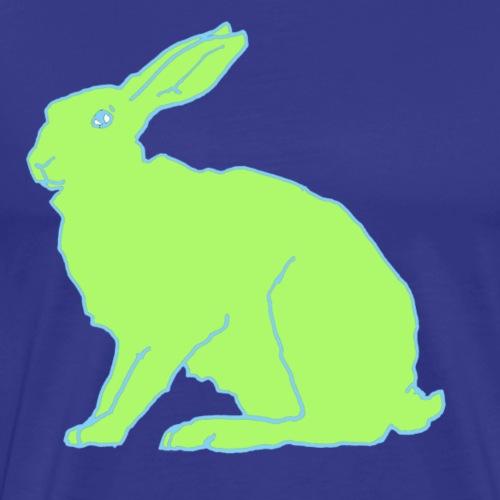 Grüner Hase - Männer Premium T-Shirt
