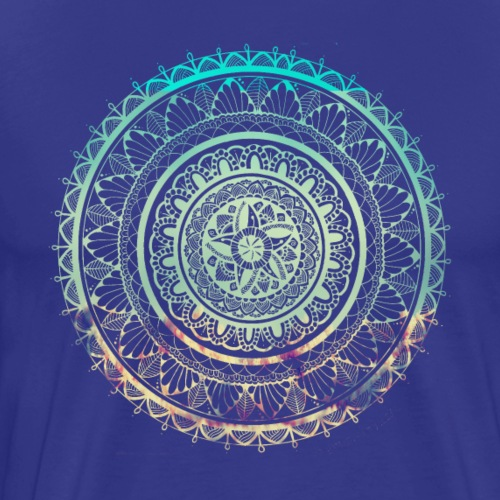 Beach Mandala - Men's Premium T-Shirt