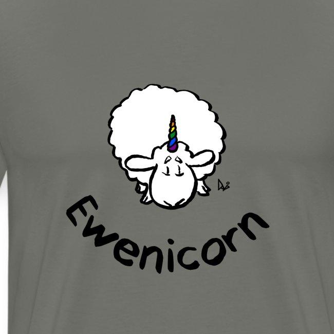 Ewenicorn - c'est un mouton licorne arc-en-ciel! (texte)