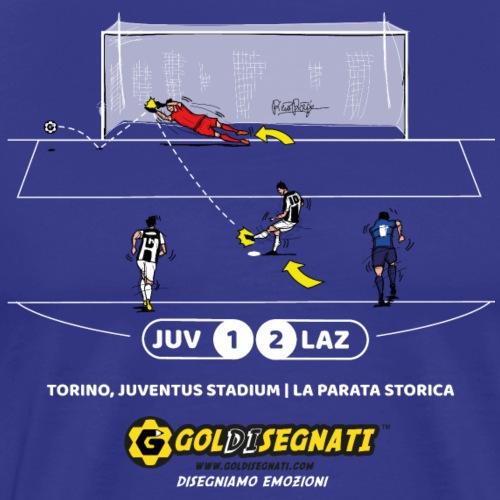 JUV-LAZ 1-2 La parata storica - Maglietta Premium da uomo