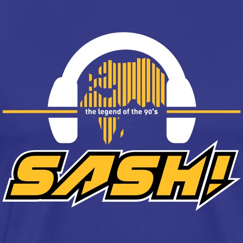 SASH! Logo 2020 Headfone - Men's Premium T-Shirt