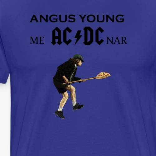 Angus Young me hace de cenar - Camiseta premium hombre
