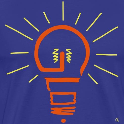 Glow - Männer Premium T-Shirt
