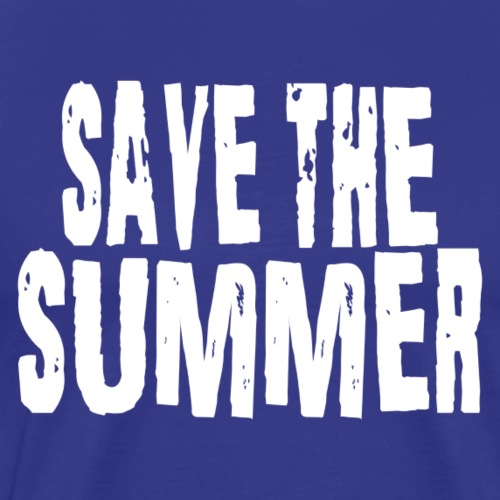 Save the summer - Männer Premium T-Shirt