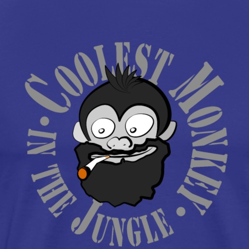 Coolest Monkey - Männer Premium T-Shirt
