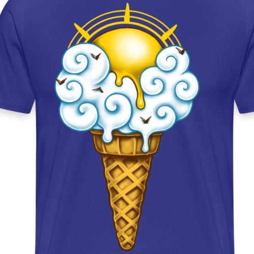 Sunny Ice Cream - Men's Premium T-Shirt