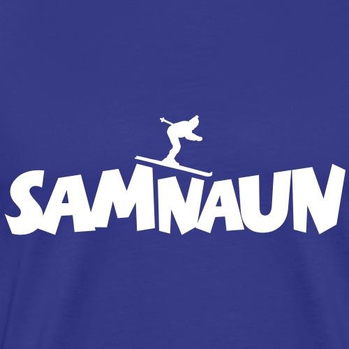 Samnaun Ski Skifahrer Skifahren - Männer Premium T-Shirt