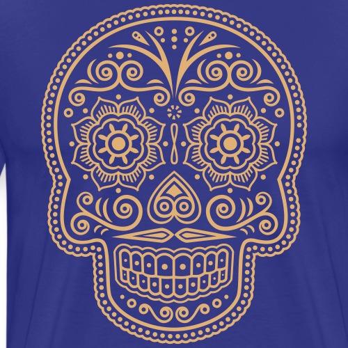 Mexikanischer Totenkopf - Männer Premium T-Shirt