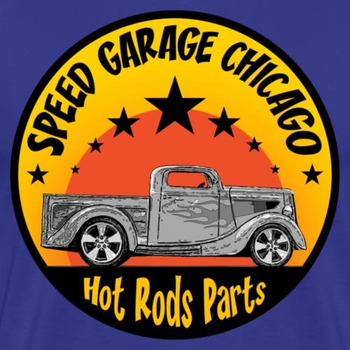 hot rods parts 4 - Men's Premium T-Shirt