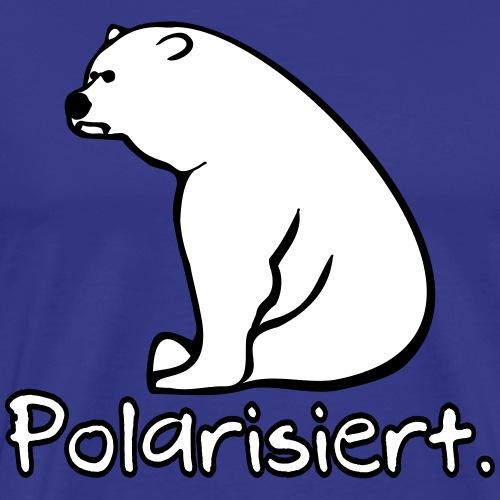 Eisbär polarisiert - Männer Premium T-Shirt