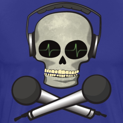 SoundSkull - Männer Premium T-Shirt