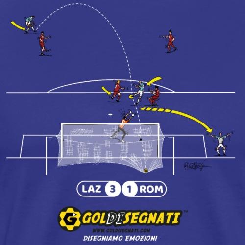 LAZ-ROM 3-1 Il Gol del Capitano N9 - Maglietta Premium da uomo