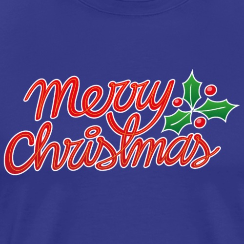 Merry Christmas, best wishes, Christmas greetings! - Men's Premium T-Shirt