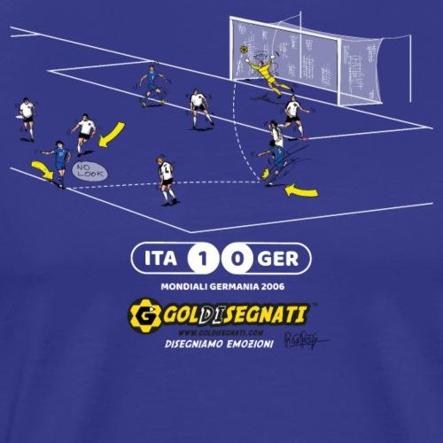 ITA-GER 1-0 2006 - Maglietta Premium da uomo