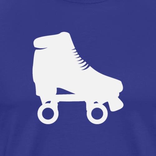 Rollschuh Weiss - Männer Premium T-Shirt